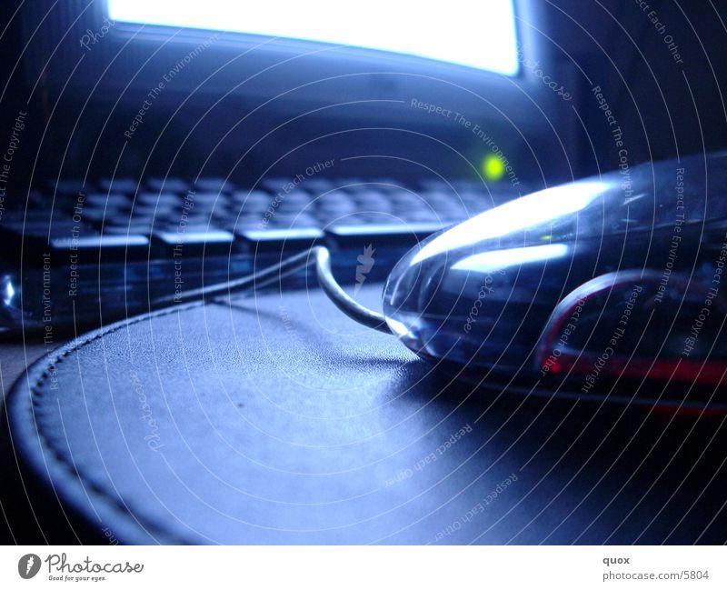 Nightwork Computer Elektrisches Gerät Technik & Technologie berühren Makroaufnahme Tastatur Computermaus