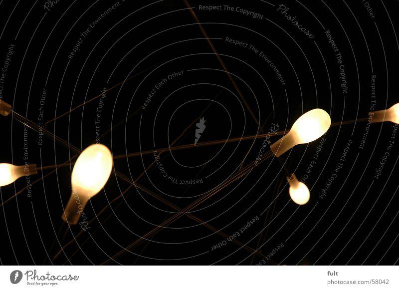 lichquelle Lampe dunkel Stil hell Glas Glühbirne