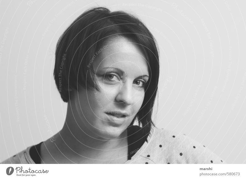 marshi | 2014 Lifestyle Stil Mensch Junge Frau Jugendliche Erwachsene Kopf 30-45 Jahre Haare & Frisuren brünett Gefühle Stimmung Blick in die Kamera Hoffnung