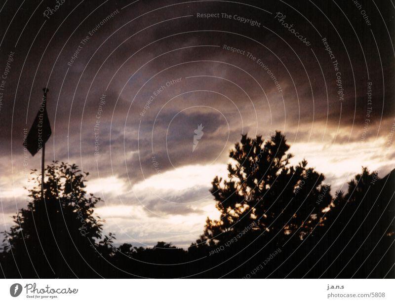 Rough Sky Herbst Licht Himmel Kontrast