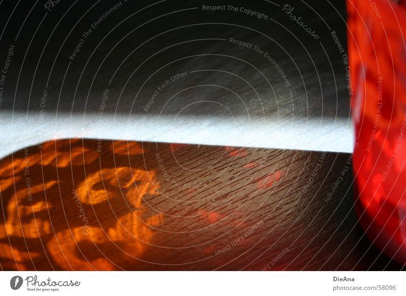 Sonnenspiel rot Farbe Lampe Wärme orange Kerze Teelicht