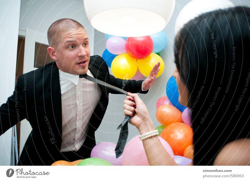 Schlawiner Mensch Erwachsene Leben sprechen Party Paar Freundschaft Familie & Verwandtschaft Business Büro Studium Macht Team Erwachsenenbildung Sitzung Partnerschaft