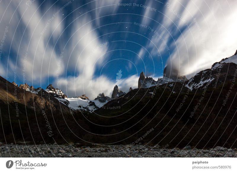 Himmel Natur Ferien & Urlaub & Reisen Sommer Landschaft Wolken Ferne Umwelt Berge u. Gebirge Tourismus Klima Alpen rein abgelegen Bergsteigen Expedition
