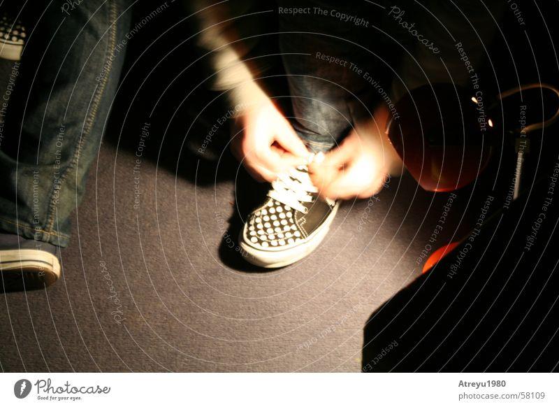 ..aufbruch Schuhe binden Schleife Lieferwagen Bewegung Punkt Ferien & Urlaub & Reisen atreyu