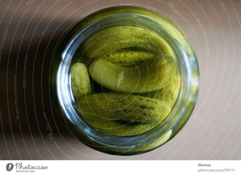 schwanger? grün Glas Gemüse Gurke Essig Spreewald Gewürzgurke