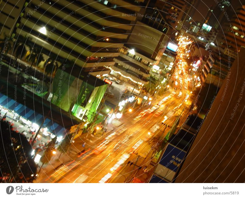 One Place in Bangkok Club asoke tower night town town in night