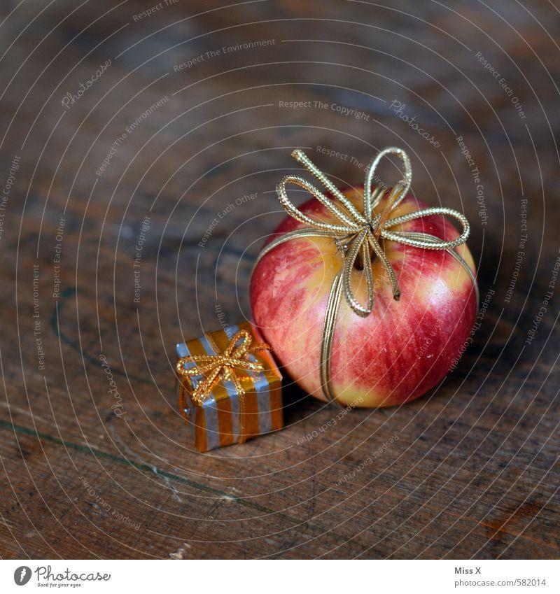 Kleinigkeit Weihnachten & Advent Gesunde Ernährung Gesundheit Holz Feste & Feiern Lebensmittel frisch gold Geburtstag Geschenk süß lecker Bioprodukte Apfel