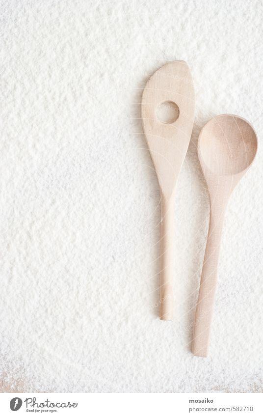 Natur weiß Farbe natürlich Ernährung Kochen & Garen & Backen Küche trocken Brot Werkzeug Mahlzeit Isoliert (Position) Zucker Oberfläche Weizen Haufen