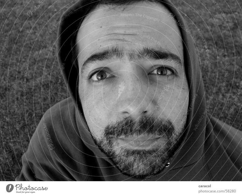 colombiano Mensch Gesicht Auge Falte Stirn