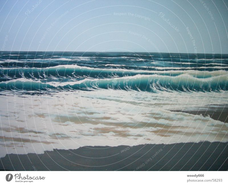 Sylt-Strand Wasser Meer Ferne Herbst See Sand Horizont Brandung