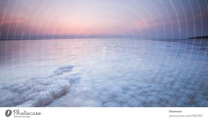 Totes Meer, Jordanien schön Behandlung Erholung Spa Tourismus Sonne Natur Landschaft Urelemente Wasser Himmel Horizont Sonnenaufgang Sonnenuntergang Küste See