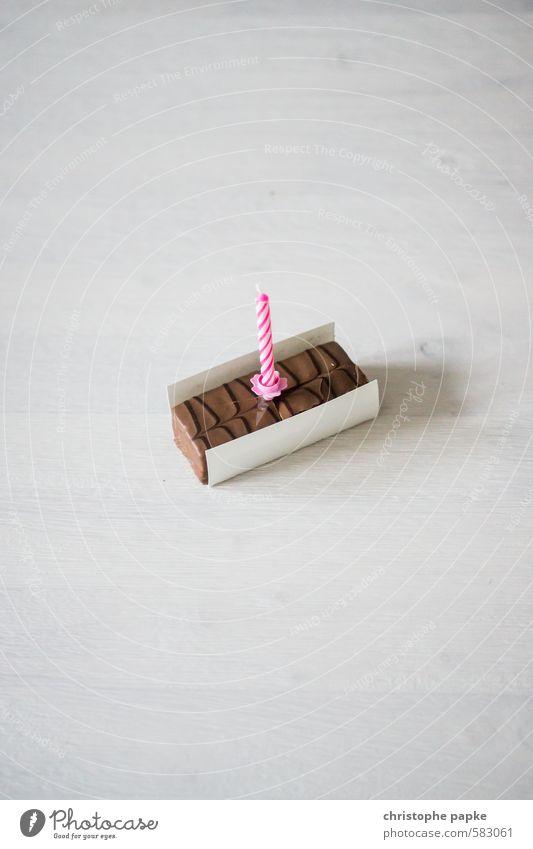500! Süßwaren Ernährung Schokolade Kerze Kitsch süß Freude Glück Feste & Feiern Jubiläum Geburtstag Geburtstagsgeschenk Geburtstagswunsch Törtchen Farbfoto