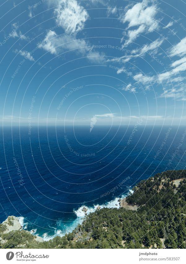 Fernseher Ferien & Urlaub & Reisen Sommer Sommerurlaub Meer Insel Umwelt Natur Landschaft Urelemente Luft Wasser Himmel Wolken Horizont Klima Wetter