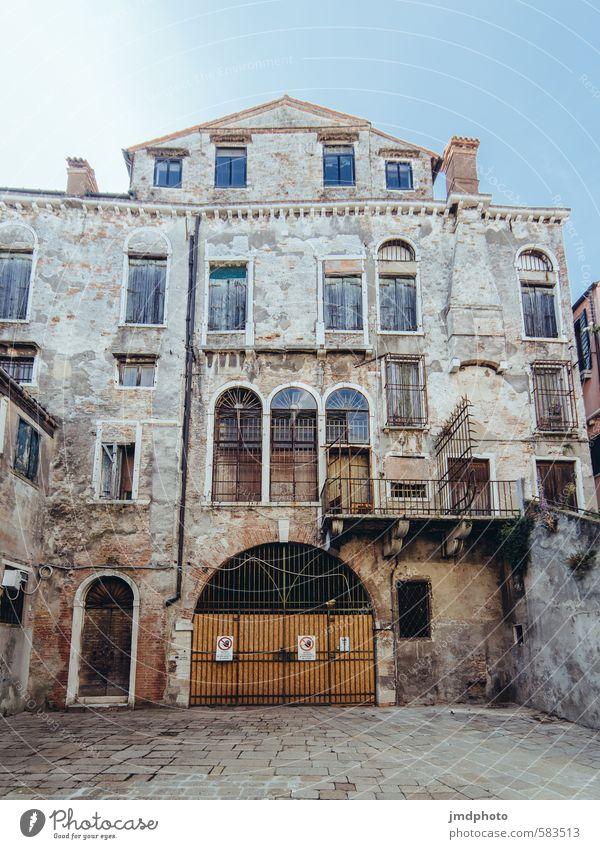 Palazzo Ferien & Urlaub & Reisen alt Haus Gebäude Architektur Fassade Wohnung Häusliches Leben Tourismus Europa Wandel & Veränderung Kultur Italien Bauwerk