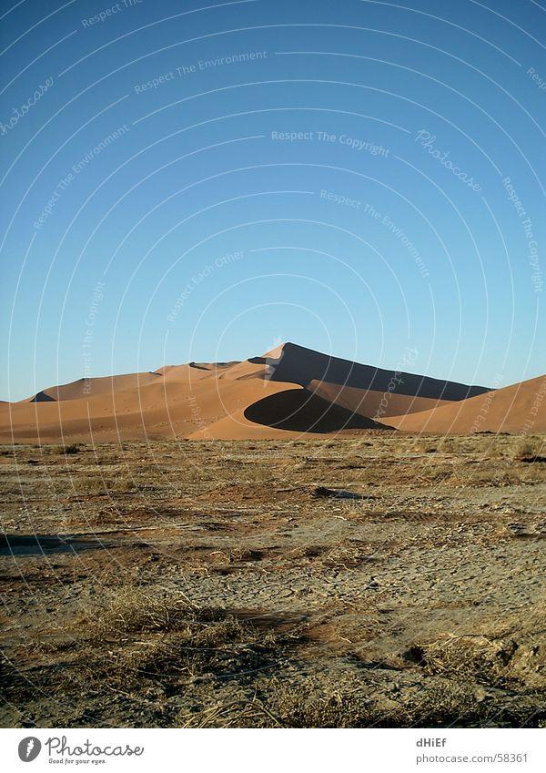 Big Mama Staub Physik Dürre Stranddüne Wüste Sand Wärme