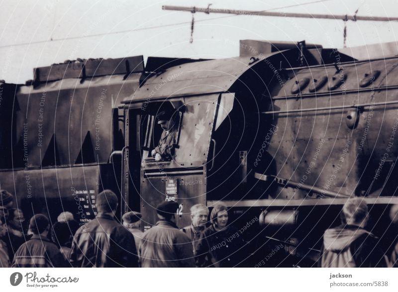 52er Verkehr Eisenbahn Lokomotive Nostalgie Dampflokomotive