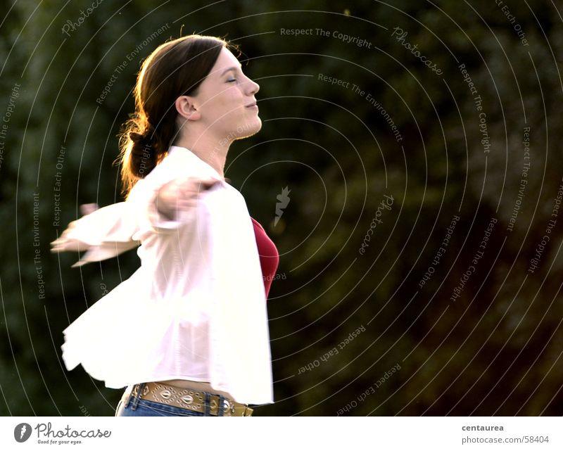 Interview mit Frau H. aus D. #2 Frau Glück fliegen Fröhlichkeit genießen leicht Schweben beweglich Unbeschwertheit