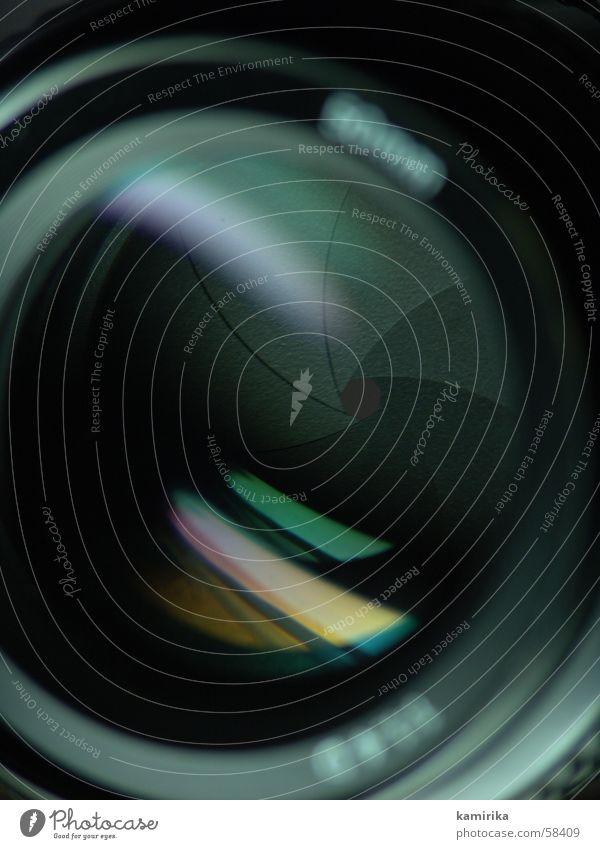blende 16 Fotokamera Spiegel Linse Brennpunkt Objektiv Blende