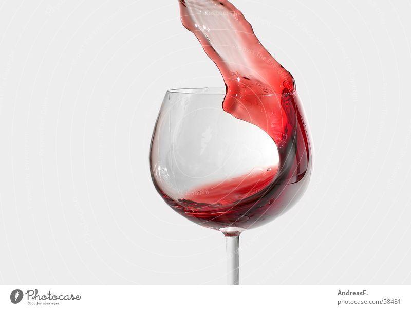 perfekte welle rot Wellen Glas Getränk Gastronomie Wein Fleck Alkohol Becher Alkoholsucht Weinglas klecksen Rotwein Cottbus Winzer