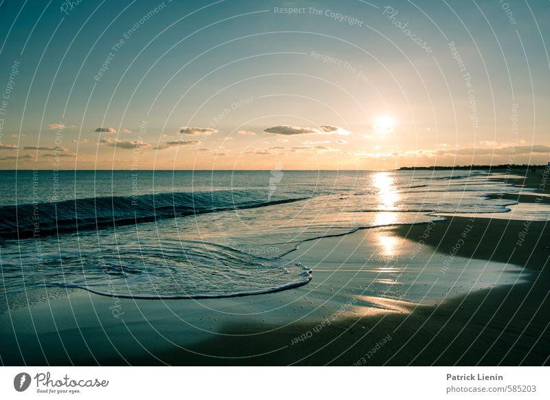 Spiegelungen | Down by the Water Himmel Natur Wasser Sonne Meer Erholung Landschaft ruhig Wolken Strand Umwelt Leben Küste Sand Stimmung Wellen