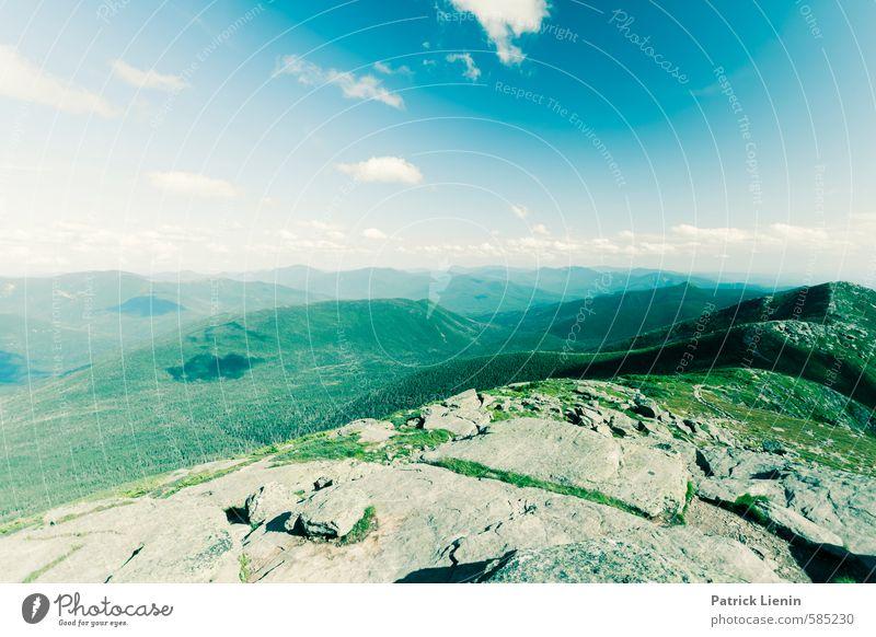 weit weg Wohlgefühl Ferien & Urlaub & Reisen Tourismus Ausflug Abenteuer Ferne Freiheit Sommer Berge u. Gebirge Umwelt Natur Urelemente Klima Wetter