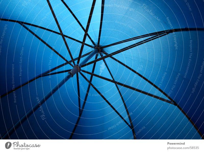 UmBRelLA Regenschirm einpacken einknicken feucht nass trocken streben Symmetrie Aluminium wasserdicht umbrella geschlossen abhalten tragen blau soff