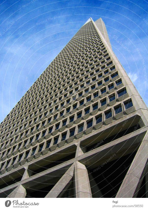 Wolkenkratzer San Francisco Hochhaus Gebäude bank of america pyramid Architektur