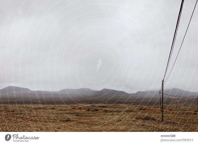 I.love.FV XLVI Kunst ästhetisch Natur Landschaft Landschaftsformen schlechtes Wetter grau Einsamkeit Republik Irland Kabel Klima Wolken Farbfoto Außenaufnahme