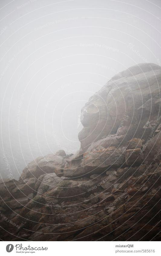 I.love.FV XLV Wolken dunkel Berge u. Gebirge grau Kunst Regen Nebel ästhetisch schlechtes Wetter Waschhaus Nebelschleier Nebelbank Nebelmeer Nebelwand