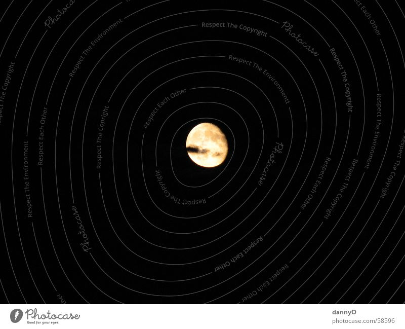 Mond II Licht dunkel Nacht