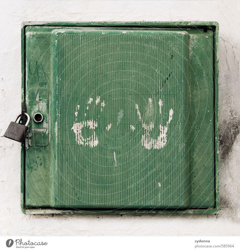 Hände weg! Mensch Hand Mauer Wand Tür Beratung Bildung Erwartung Freiheit geheimnisvoll Hilfsbereitschaft Idee Kontakt Kontrolle Leben lernen Misserfolg Neugier