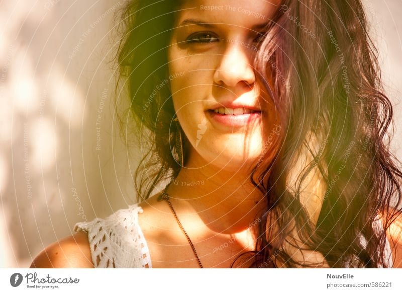 Summer in my heart, Mensch Frau Kind Jugendliche Junge Frau 18-30 Jahre Erwachsene Leben Gefühle feminin Haare & Frisuren Glück Mode Zufriedenheit 13-18 Jahre Fröhlichkeit