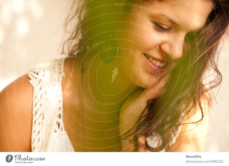 Summer in my heart II Mensch Frau Kind Jugendliche schön Junge Frau Freude 18-30 Jahre Erwachsene Leben Gefühle feminin Glück 13-18 Jahre Fröhlichkeit