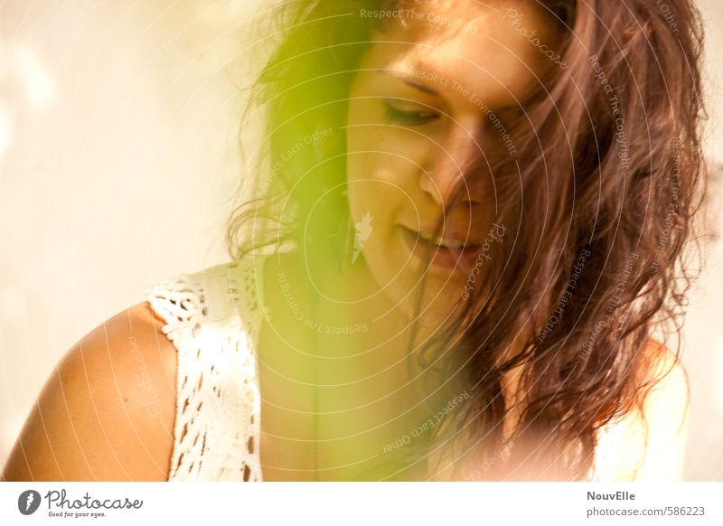 Endless Summer. Mensch feminin Junge Frau Jugendliche Erwachsene Leben 1 13-18 Jahre Kind 18-30 Jahre Gefühle Glück Zufriedenheit Frühlingsgefühle Coolness
