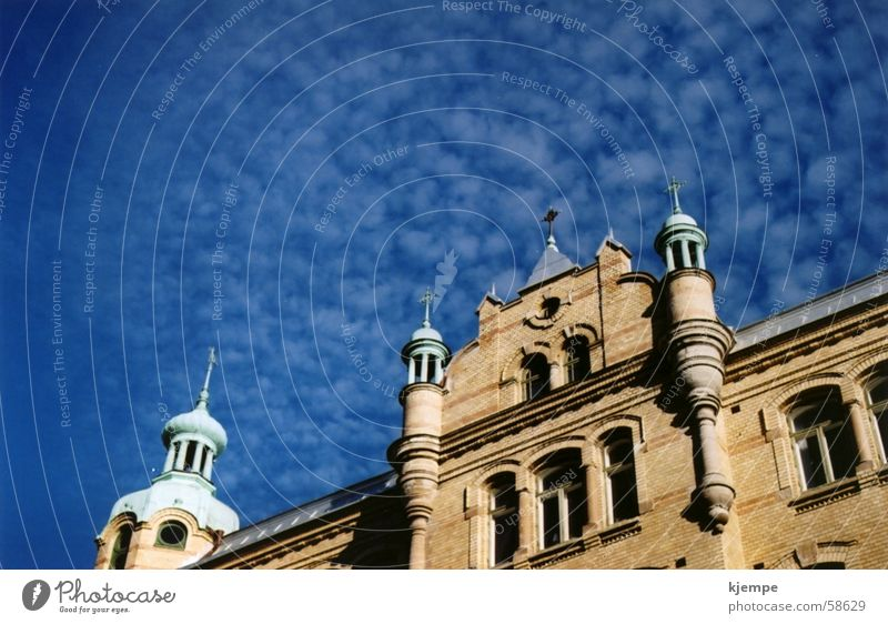 Cirrocumulus Himmel Haus Kumulus Wolkenhimmel Göteborg
