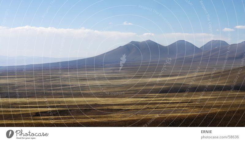 Dünne Luft 2 Natur grün Ferien & Urlaub & Reisen Wolken Wiese Berge u. Gebirge Landschaft Chile