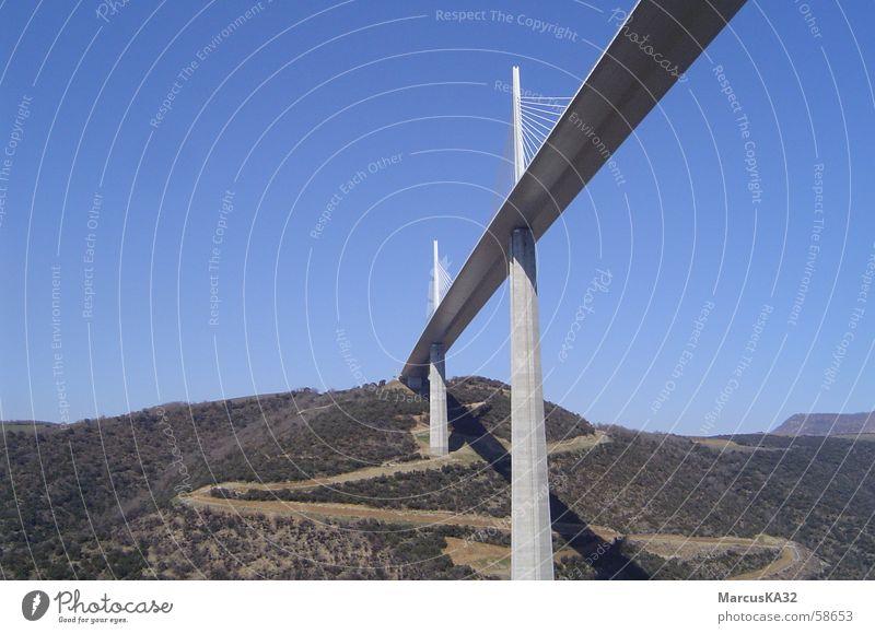 Brücke bei Millau/Cevennen/Südfrankreich Brücke Frankreich Südfrankreich Millau Cévennes