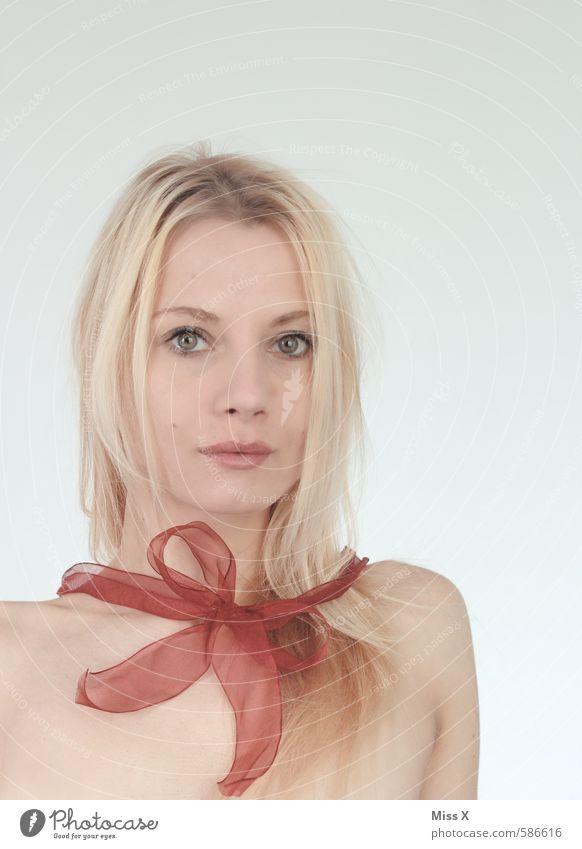 Valen-Dienst-Tag Mensch Jugendliche schön nackt Junge Frau 18-30 Jahre Erwachsene Erotik Gefühle Liebe feminin Feste & Feiern blond Geburtstag Geschenk