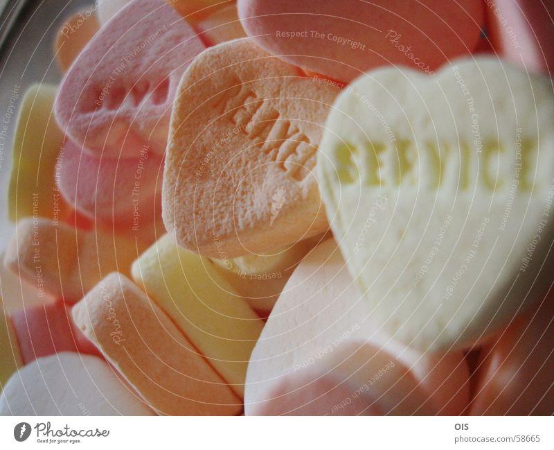 relaxed service Zucker sugar Herz heart sweet sweets Erholung Dienstleistungsgewerbe Freundlichkeit von herzen herzlich Liebe