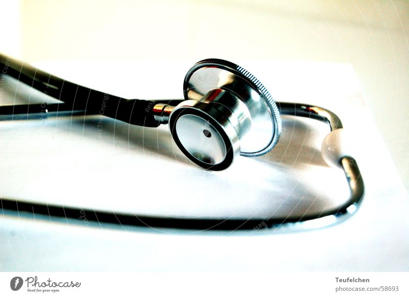 Stethoskop 2 Metall hören Handwerk schwanger Geburt Schlauch Hebamme Ohrmuschel Geburtshilfe