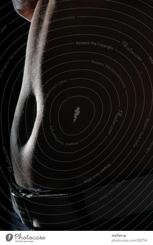 Bellybutton Frau feminin Erotik nackt Akt Bauch Bauchnabel Frauenkörper