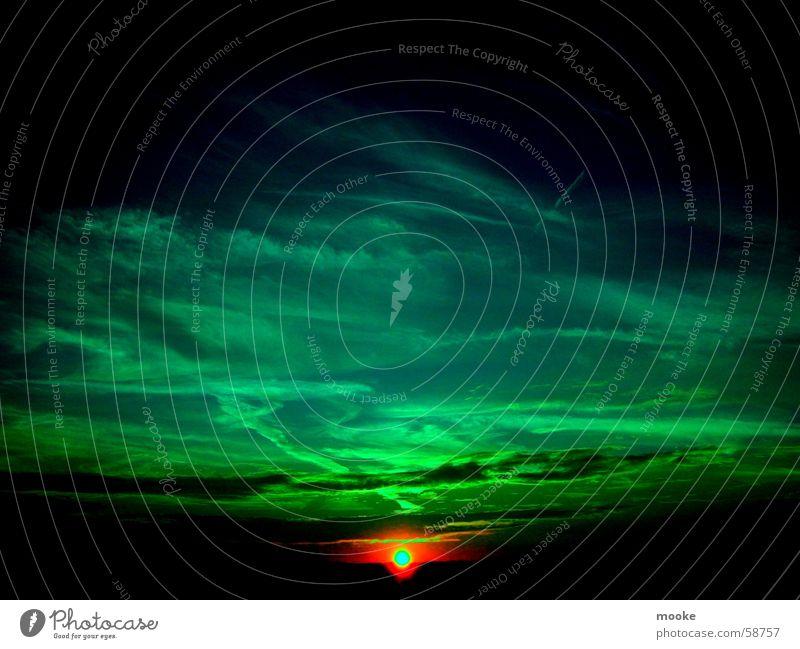 Red Star grün blau schwarz dunkel