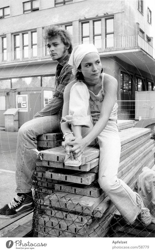 Liz und Richard in der Stadt Mensch Coolness