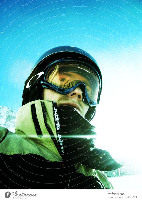 Boarder4Life Sonne Winter Schnee Nase Freundlichkeit Jacke Blauer Himmel Skifahrer Wintersport Kragen Snowboarder Schneebrille Wintersportbekleidung Skihelm