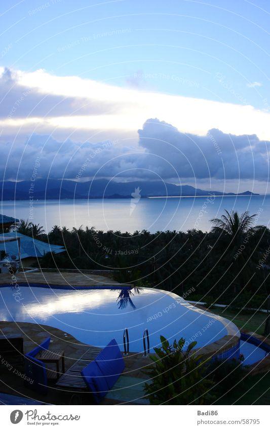 Meerblick Panorama (Aussicht) Thailand Asien Wolken Himmel groß