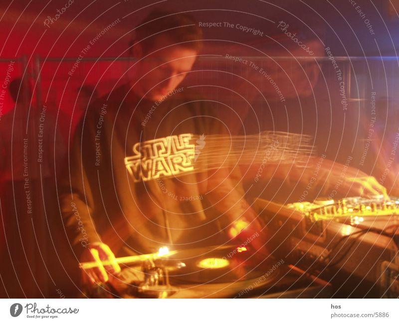styled DJ Party Disco Club Diskjockey Techno