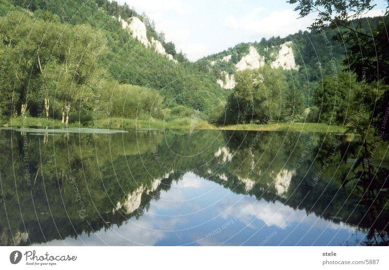 Donuau - Donautal Wasser Fluss Baden-Württemberg Oberes Donautal