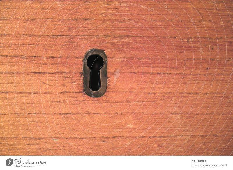 Welche Geheimnisse...? Schlüssel Schlüsselloch Holz Schublade geheimnisvoll Büroangestellte Ablage geheimfach