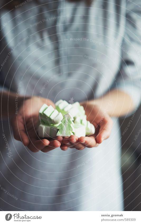 marshmallow Mensch Weihnachten & Advent Hand Freude Gefühle Essen Spielen Glück Feste & Feiern Lebensmittel Stimmung Freizeit & Hobby ästhetisch Ernährung genießen süß
