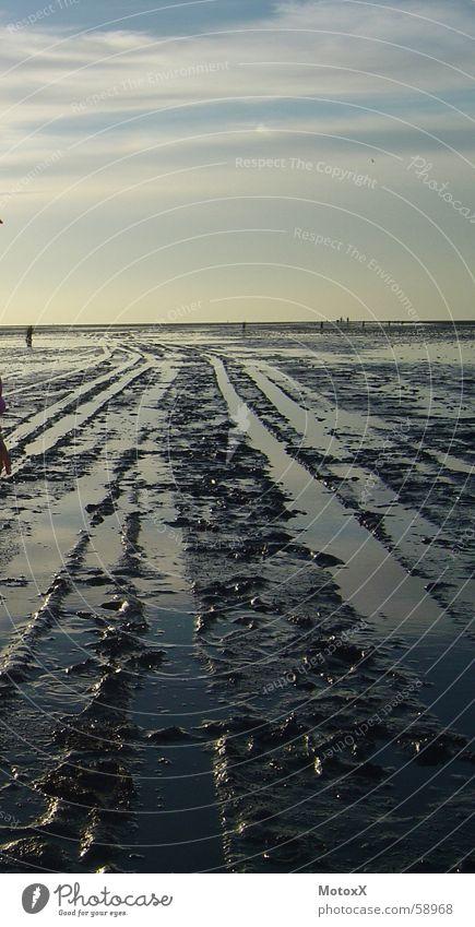 Wat'n Watt Meer Ebbe Strand Nordsee Wattenmeer Deutschland